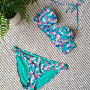 Aerie Floral Bikini